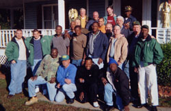 The Shepherd's House Staff and men in the program at one point.